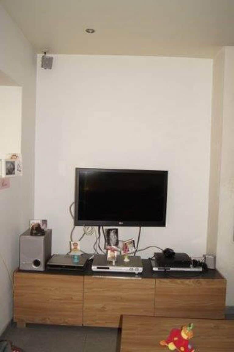 Deboosere interieurinrichting | TV meubel en kast rond haard image 1