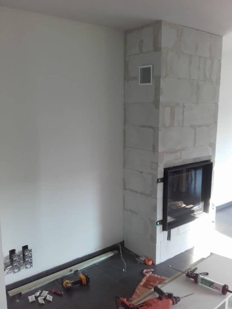 Deboosere interieurinrichting | Haardwand Steigerhout image 10