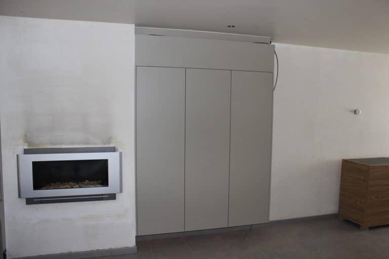 Deboosere interieurinrichting | TV meubel en kast rond haard image 7