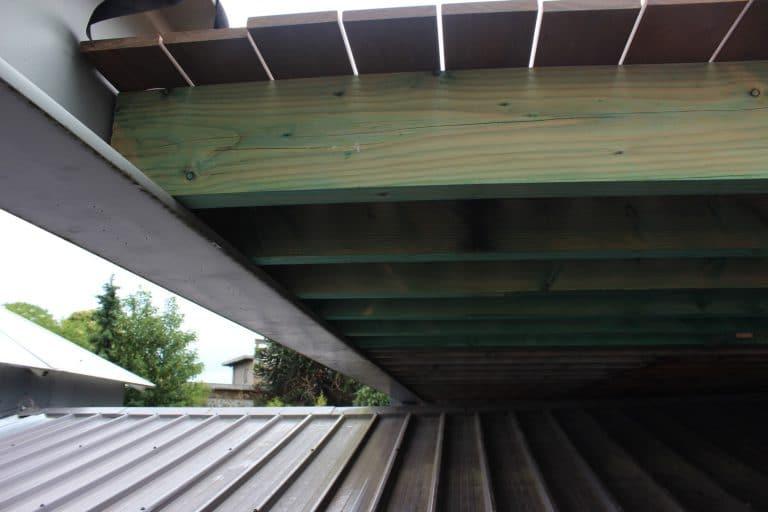 Deboosere interieurinrichting | Zwevend terras in Ipe image 12