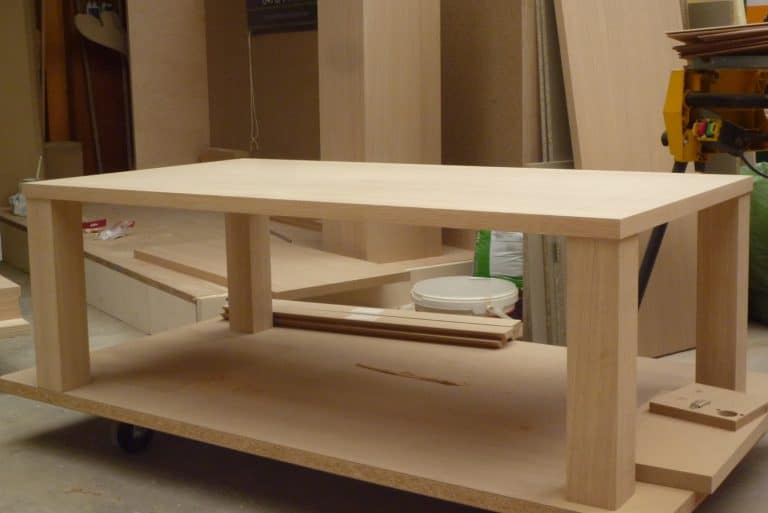 Deboosere interieurinrichting | Los meubel in eik fineer image 12