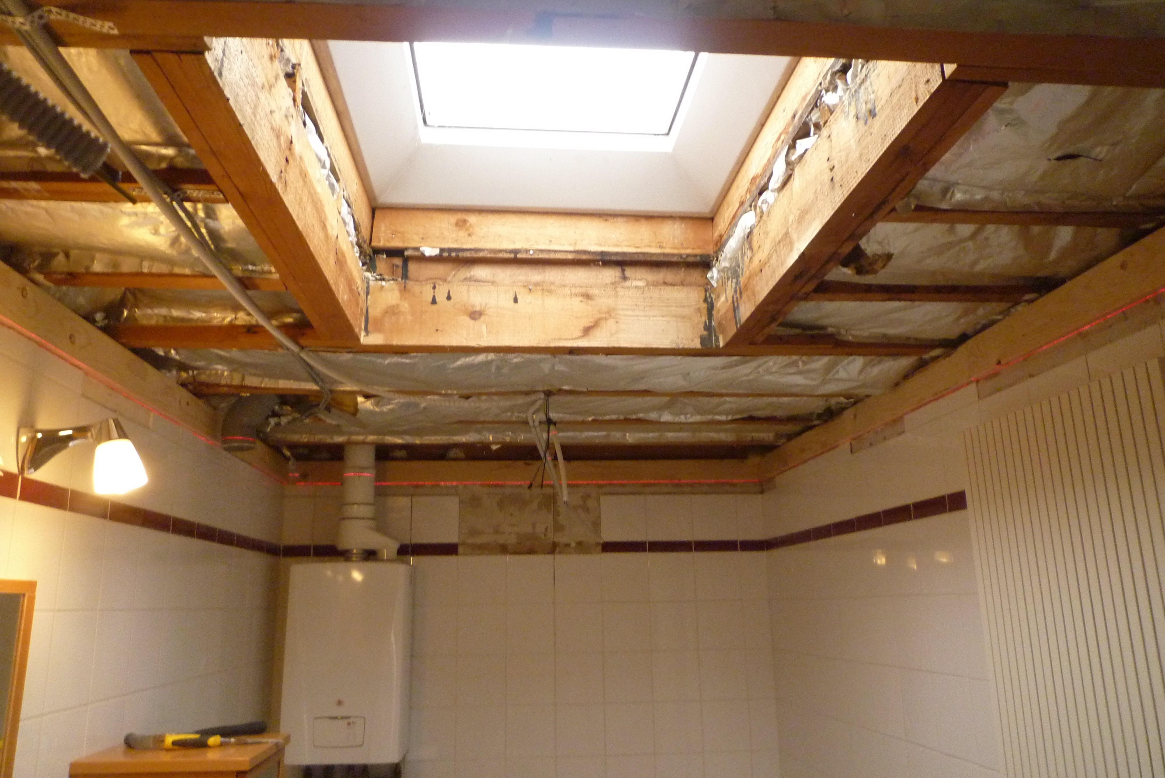 Deboosere interieurinrichting | Badkamer met gyprocplafond image 1