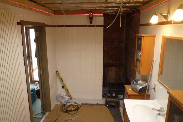 Deboosere interieurinrichting | Badkamer met gyprocplafond image 3