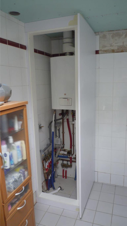 Deboosere interieurinrichting | Badkamer met gyprocplafond image 8
