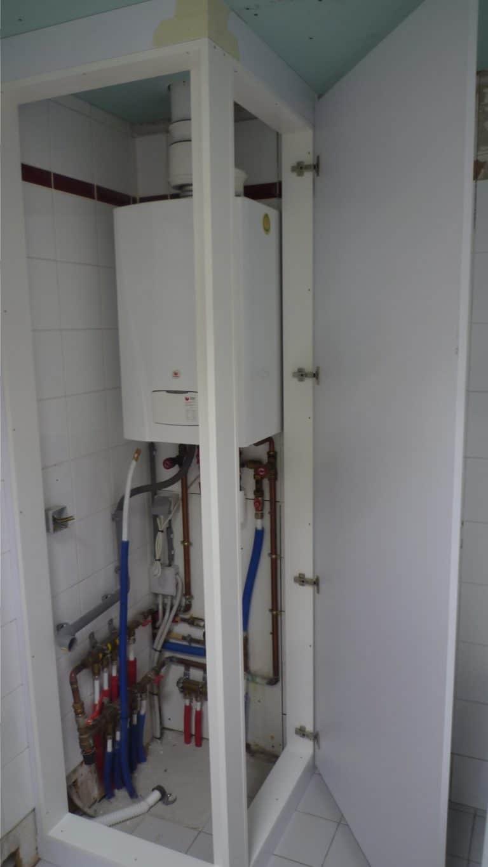 Deboosere interieurinrichting | Badkamer met gyprocplafond image 9