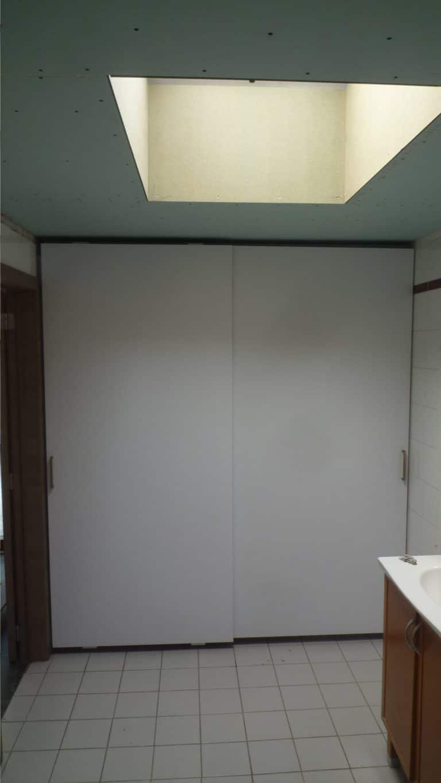 Deboosere interieurinrichting | Badkamer met gyprocplafond image 11